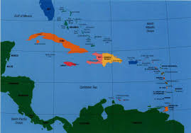 A Map Of The Caribbean by A World Safe From Natural Disasters