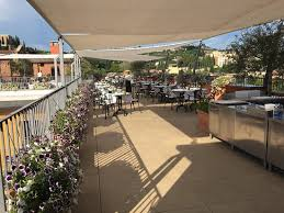 roof terrace bar and restaurant picture of due torri hotel