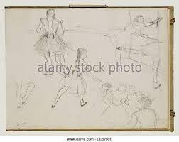 drawing by edgar degas stock photos u0026 drawing by edgar degas stock