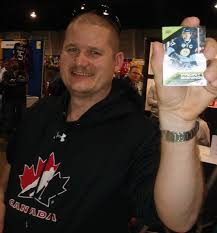 sidney crosby birthday card sights and sounds from the sports card collectibles expo