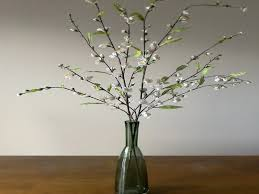 vase with branches home decorating ideas