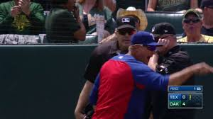 Banister Ball Tex Oak Banister Ejected For Arguing Foul Ball Youtube