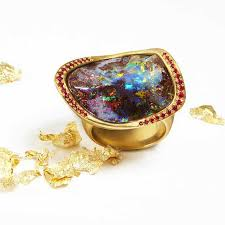 opal october gemstone of the month iridescent opals to celebrate the arrival