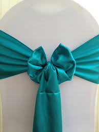 teal chair sashes hire satin sashes deans chair covers northtonshire