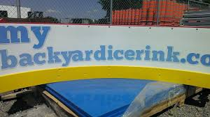 Backyard Ice Rink Kits by Backyard Ice Rinks Build A Home Ice Rink And Bring On The Hockey