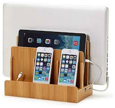 Charging Station Desk Smart Multi Device Charging Station With 8 Amp 40 Watt Usb Ac