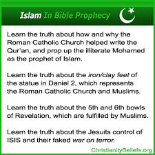roman catholic church and islam muslim connection in bible prophecy