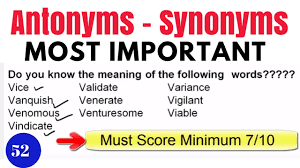 useful synonyms important synonyms for ssc u2013 best import 2017