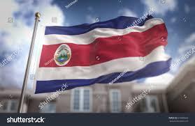 Costarican Flag Costa Rica Flag 3d Rendering On Stock Illustration 619020653