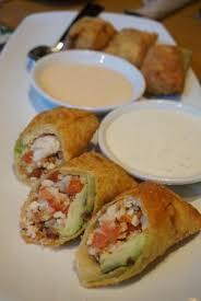 avocado club egg rolls picture of california pizza kitchen las