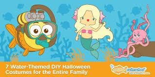 Water Halloween Costume 7 Water Themed Diy Halloween Costumes Entire Family