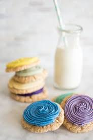 gradient sugar cookies natural food dye sugar cookies organic