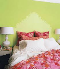 bedroom decorating ideas green paint and wallpaper
