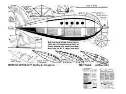 Model Ship Plans Free Download by Martian Space Ship Plans Download Air Trails Annual By Roy