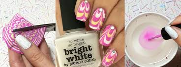 nail art tutorial water marble decals nail it