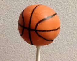 basketball cake pops etsy