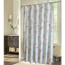 Country Chic Shower Curtains Shabby Chic Blue Floral Bird Luxury Shower Curtains