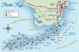 The Map Of Florida by The Florida Keys Real Estate Conchquistador Keys Map