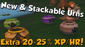 New Update 4 New Urns & Stackable Urns Runescape 3 20  More