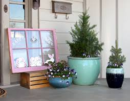easter home decorating ideas home decor cheerful front porch spring decor ideas to welcome