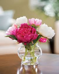 flower centerpieces peony silk flower centerpiece clear acrylic peony and peony