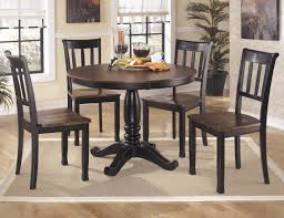 buy ashley furniture owingsville round dining room table set