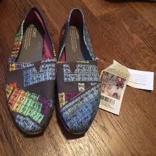 toms periodic table shoes 48 off toms shoes periodic table poshmark