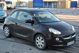 opel vauxhall spied opel vauxhall rocks concept materializes into new adam cabrio