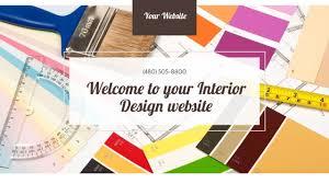 interior design website templates godaddy