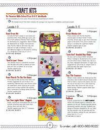 let your light shine vacation bible print scans vbs brochure set sail