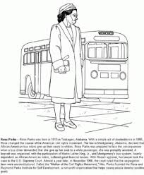 rosa parks coloring pages az coloring pages within rosa parks