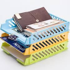 Office Desk Organizer by Office Desk Organizer Plastic Documents Basket Plastic File Tray