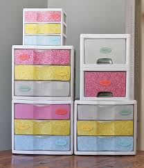 plastic storage cabinets with drawers makeover plastic storage drawers crafts by amanda
