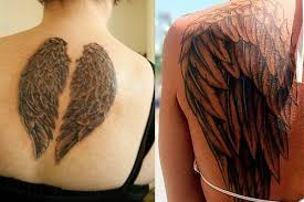 angel wing tattoos tattoo ideas designs u0026 meaning behind angel