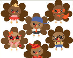 thanksgiving clipart turkeys personal and limited swimming