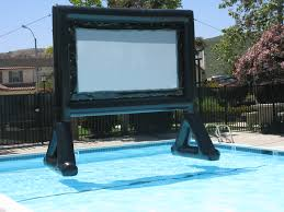 floating movie screen my newest toy backyard theater forums