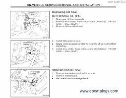 nissan x trail t30 2007 repair manual cars repair manuals