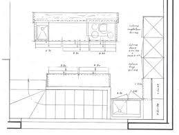 plan ilot central cuisine cuisine blanche avec ilot central 11 plan cuisine ilot chaios