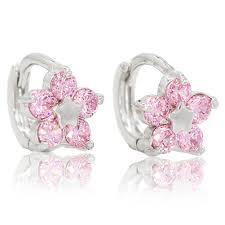 baby girl earrings white gold earrings for eternity jewelry