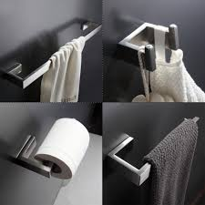 Delta Bathroom Towel Bars Bathrooms Design Brushed Chrome Towel Bar Double Holder Delta