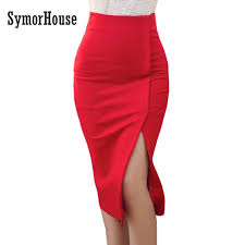 pencil skirt high waist pencil skirt women plus size tight bodycon fashion
