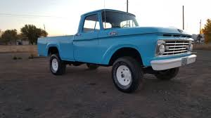 Ford Truck Upholstery 1963 Ford F 100 4x4 Pickup Truck New Paint Upholstery Runs