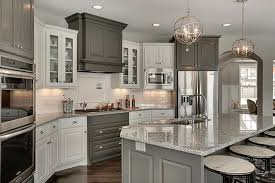 grey kitchen countertops with white cabinets top 25 best white granite colors for kitchen countertops