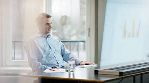 Office Table White Png Business Man At Office Desk Leaning Back Stock Video Footage