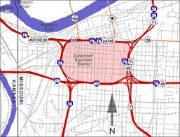 kansas city metro map kansas city metropolitan area