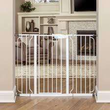 Baby Gate For Stairs With Banister Amazon Com Regalo Extra Tall Widespan Gate White Indoor