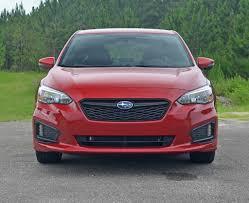 subaru impreza hatchback 2017 2017 subaru impreza 2 0i sport hatchback review u0026 test drive