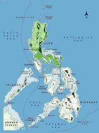 Luzon Map Southern Luzon Biodiversity Conservation Programme U2013 Philippines