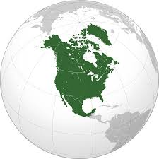 North America Blank Map by List Of Impact Craters In North America Wikipedia