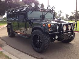 hummer jeep 2013 2006 hummer h1 alpha wagon 2nd generation black with all black